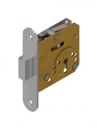 Kleine Einsteckschlösser mit Schlüssel (traditioneller Schlüssel) Messing
