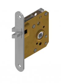 Small mortise latch locks brass