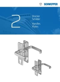 Schwepper main catalog section 02 / Handles and Plates for Locks