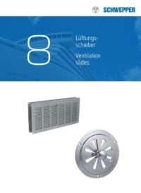 Schwepper main catalog Section 08 / Products for venting apertures