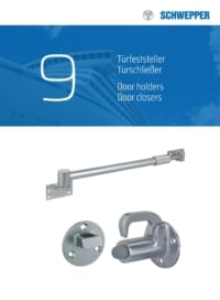 Schwepper main catalog section 09 / Product for Door fastenings
