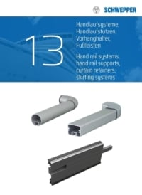 Schwepper main catalog section 13 / Handrail and Skirting Systems