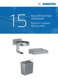 Schwepper main catalog section 15 / Products for sanitary units