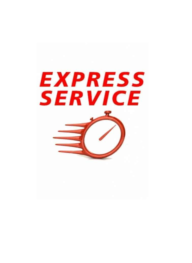 Stock items | express dispatch service